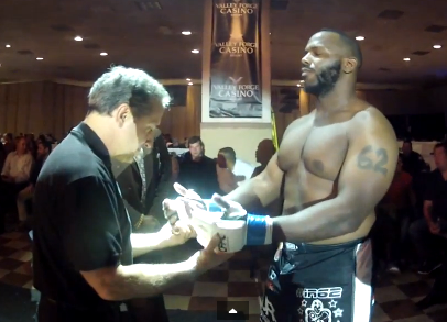 J. A. Dudley vs Joe Stripling Cage Fury Fighting Championships 27